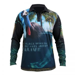 Adults Adventure Junkie Fishing Shirt North Queensland